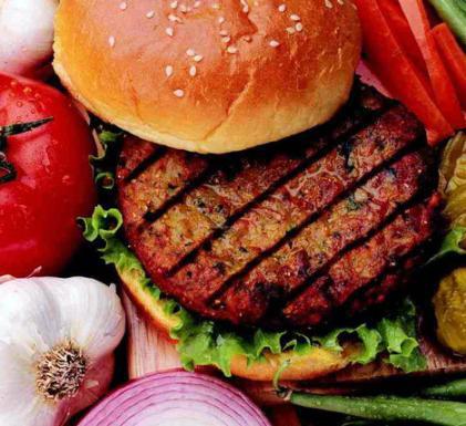 Hambúrguer de Feijão, Castanha de Caju eAveia