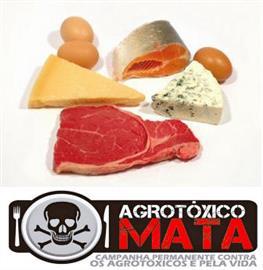 Alimentos de origem animal contém mais agrotóxicos do que os vegetais, dizmédico