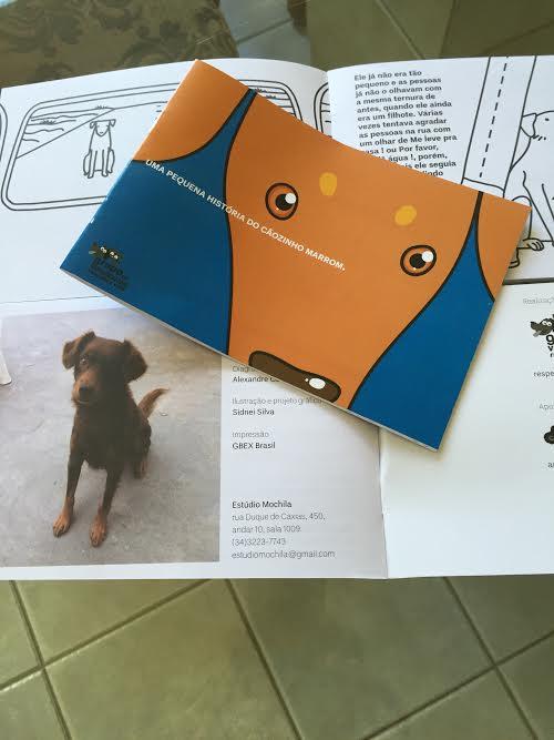Cartilha ensina crianças a respeitarem animais em Uberlândia(MG)