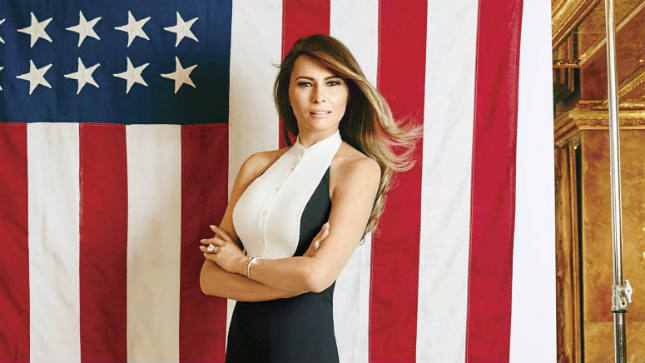 Melania Trump decide parar de usar pele animal