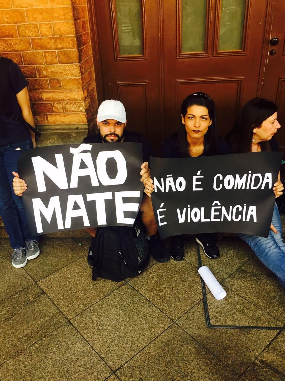 No último sábado (13/05/2017) O The Save Movement São Paulo realizou sua 1° vigília em abatedouros noBrasil.