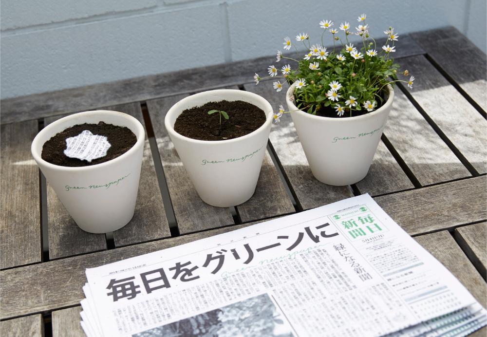 Conheça o jornal japonês que vira planta após ser descartado naterra
