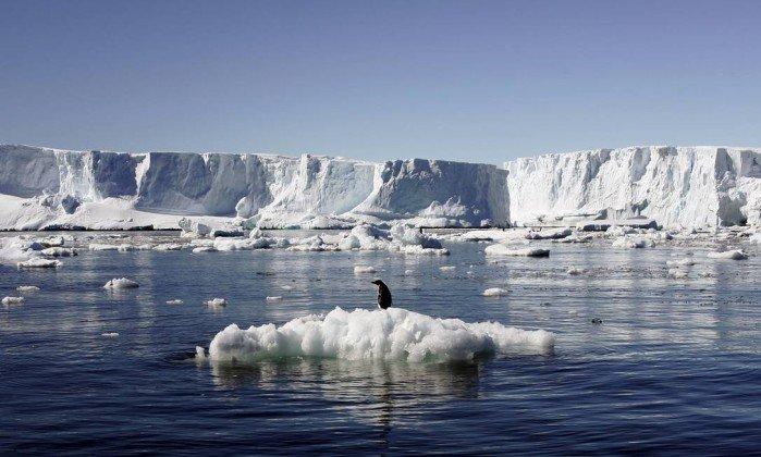 Superfície do Oeste da Antártica derreteu substancialmente em2015-2016