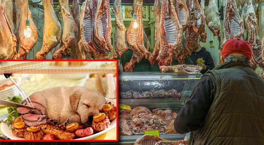 França se prepara para ter seu primeiro açougue com carne decachorro